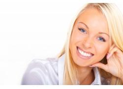 金发碧眼的外国美女高清图片
