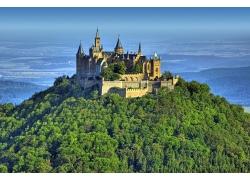 欧洲庄园美丽风景图片