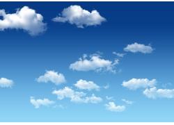 蓝天白云图片素材23
