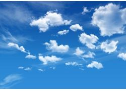 蓝天白云图片素材04
