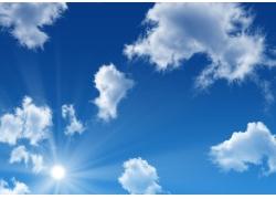 蓝天白云图片素材08