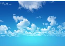 蓝天白云图片素材27
