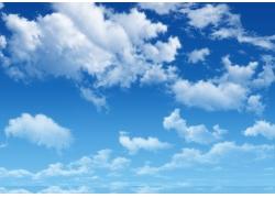 蓝天白云图片素材10