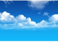 蓝天白云图片素材30