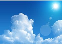 蓝天白云图片素材32