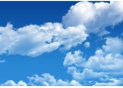 蓝天白云图片素材14
