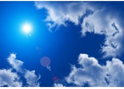 蓝天白云图片素材34