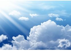 蓝天白云图片素材18