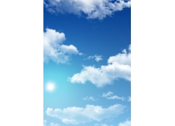 蓝天白云图片素材38
