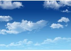 蓝天白云图片素材20