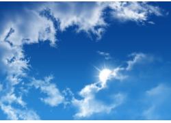 蓝天白云图片素材40