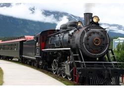 蒸汽火车摄影高清图片