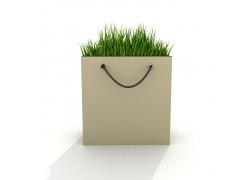 环保创意手提袋高清图片