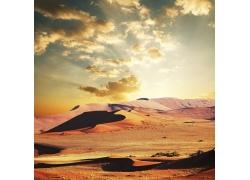 美丽沙漠风光摄影高清图片