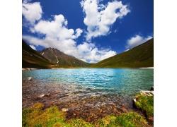 美丽湖泊风景图片