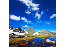 美丽高原风景图片