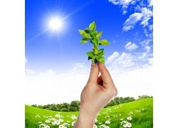 创意绿色环保主题高清图片