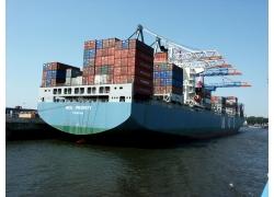 货船摄影高清图片