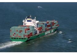集装箱货轮摄影高清图片