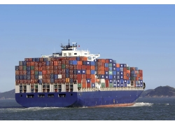 货运轮船摄影高清图片