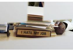 整理文件的商业人物高清图片