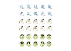 电脑网络图标素材
