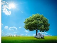 绿色环保高清图片