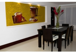 餐厅室内装修摄影
