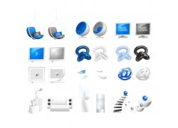 科技图标素材图片