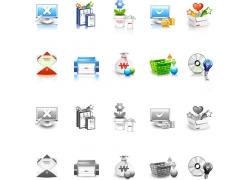 电脑科技图标素材图片