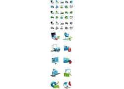 矢量科技图标素材图片