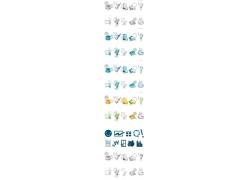 立体生活百科图标