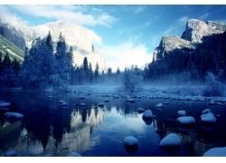 雪山风景摄影图片