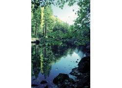 自然风景山水画图片