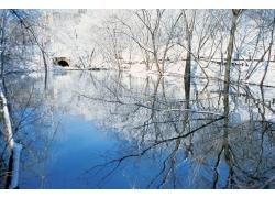 冬天自然风景图片