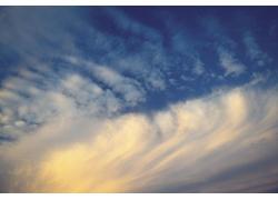 日落时的天空云彩