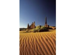 沙漠自然风景高清图片