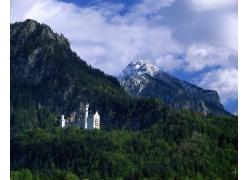 古堡风景摄影图片