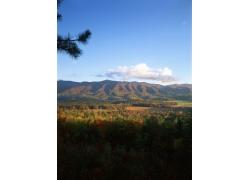 秋天美丽风景摄影