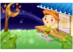 可爱卡通男孩图片