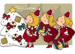 圣诞节插画素材图片