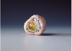 紫菜包饭寿司特写
