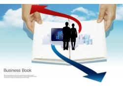 创意商业概念海报图片
