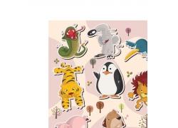 各种卡通动物