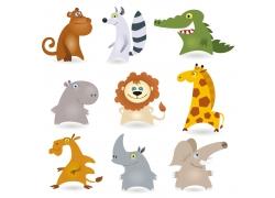 各种各样的可爱动物