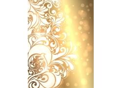 新年黄金背景