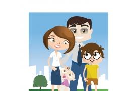 幸福的家庭图片