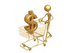 金融贸易3D小人