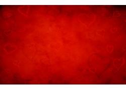 红色心型背景