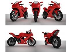 摩托车设计效果图